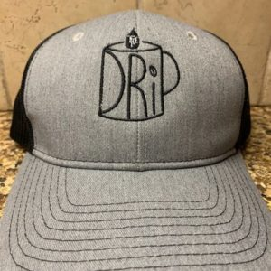 Gray DRiP Logo Hat