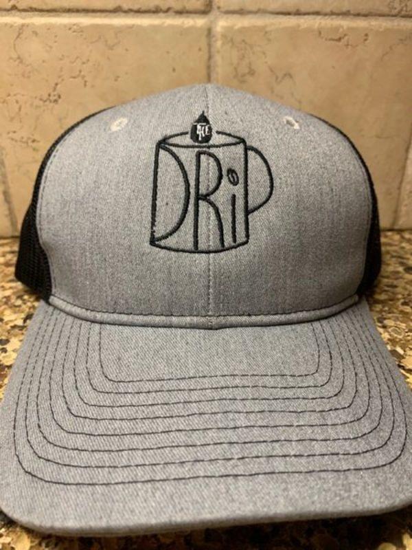 Gray DRiP Logo Hat