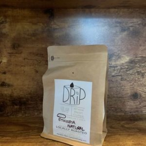 ETHIOPIA NATURAL 12oz Light Roast Whole Bean Coffee