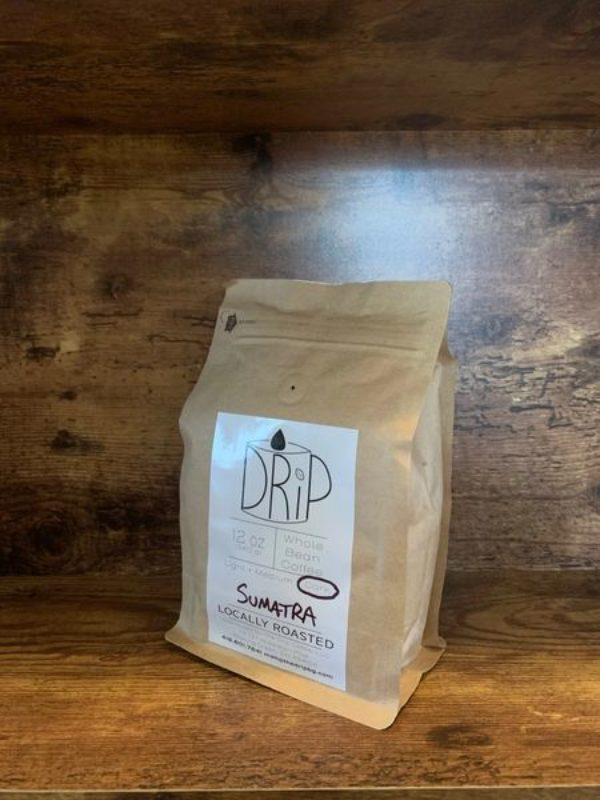 SUMATRA 12oz Dark Roast Whole Bean Coffee
